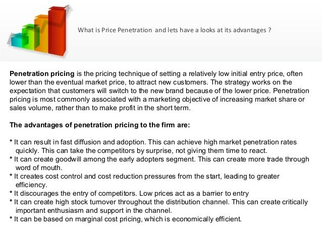 Penetration pricing policy disadvantages