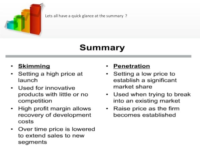Market penetration advantages
