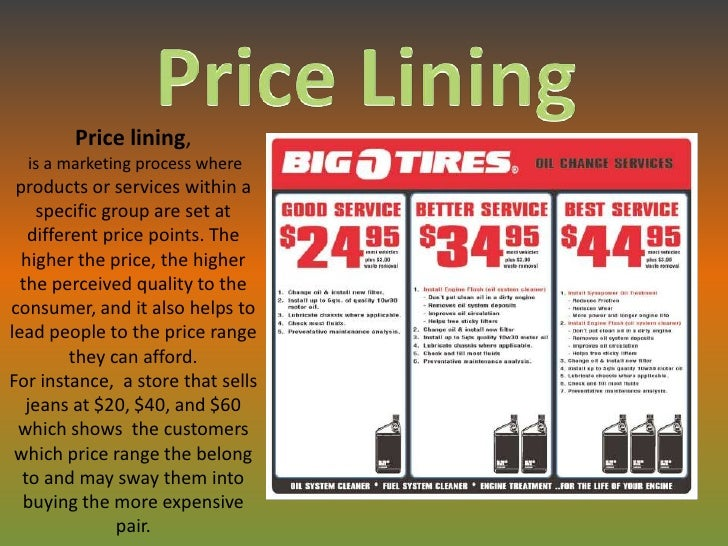 Pricing strategies for new product