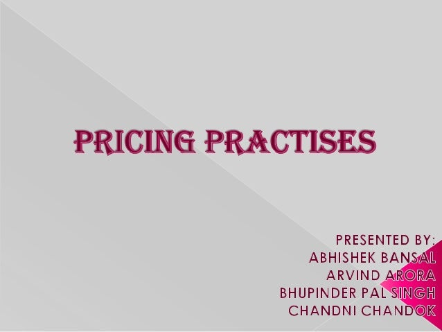  COST-PLUS PRICING MULTIPLE PRODUCT PRICING TRANSFER PRICING PEAK-LOAD PRICING SYSTEM
