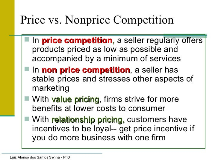 non price competition examples
