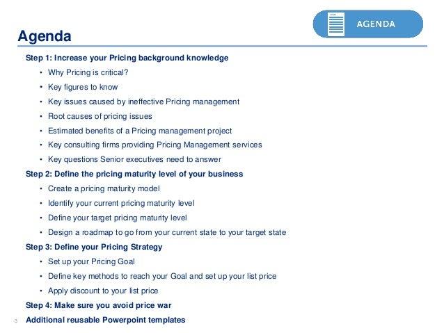 Price adjustment strategies – adjusting prices.