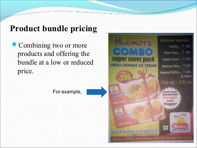 Promotional discount