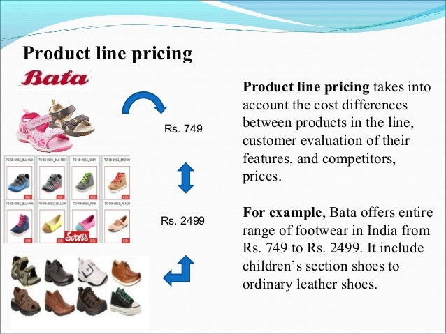 product mix of bata
