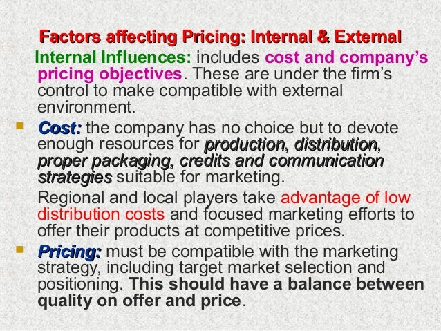 internal and external environmental factors affecting the retail market The marketing environment corporate environment and our external environment which is on internal marketing and also on the functions within an.