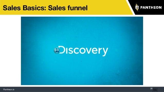 Pantheon.io 26 Sales Basics: Sales funnel
