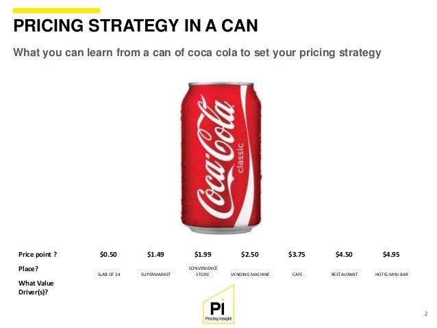 Coca cola price factors