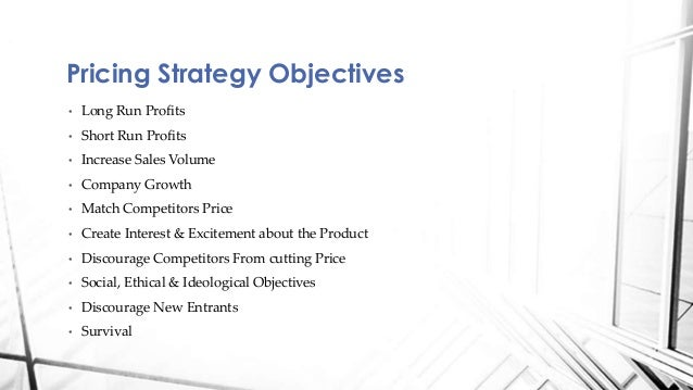 Pricing strategy ppt.