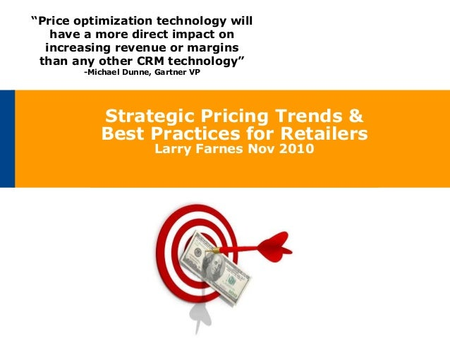 Pricing Trends And Best Practices