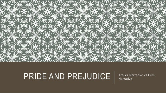 PRIDE AND PREJUDICE Trailer Narrative vs Film Narrative