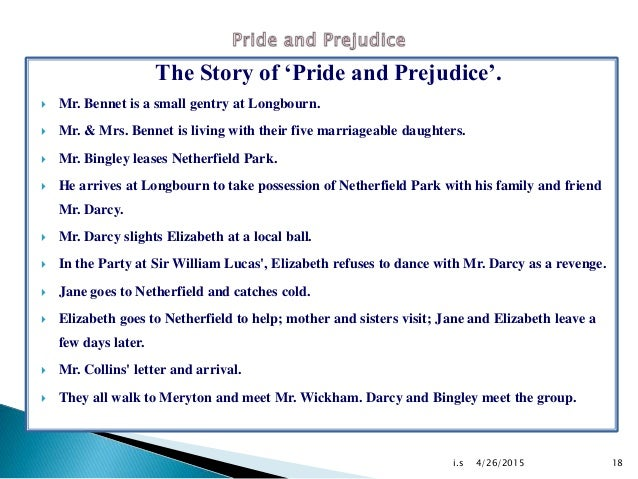 pride and prejudice jpg cb   18 the story of pride and prejudice