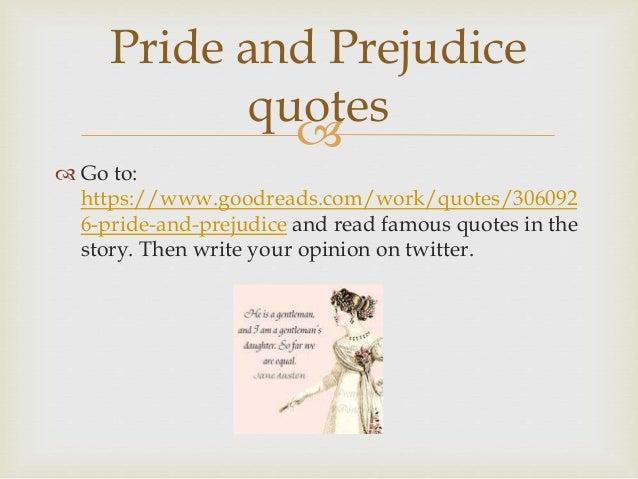 Part A. Pride & Prejudice by Jane Austen Part B. Brief ...