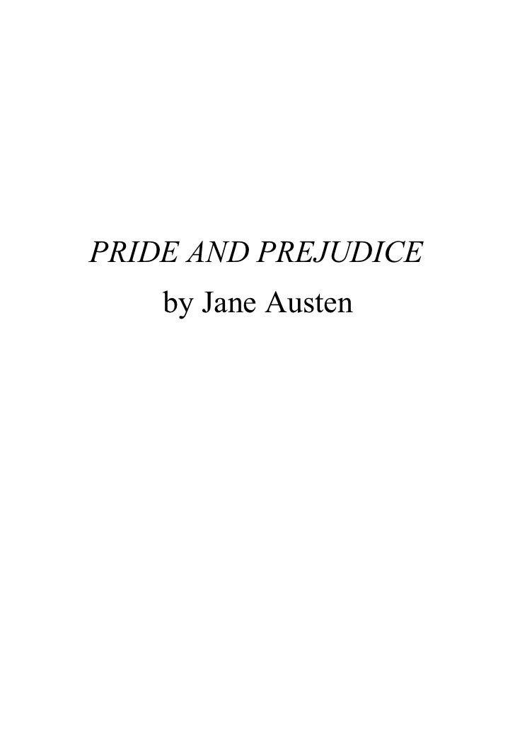 Pride prejudice and letters to