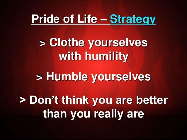 pride of life