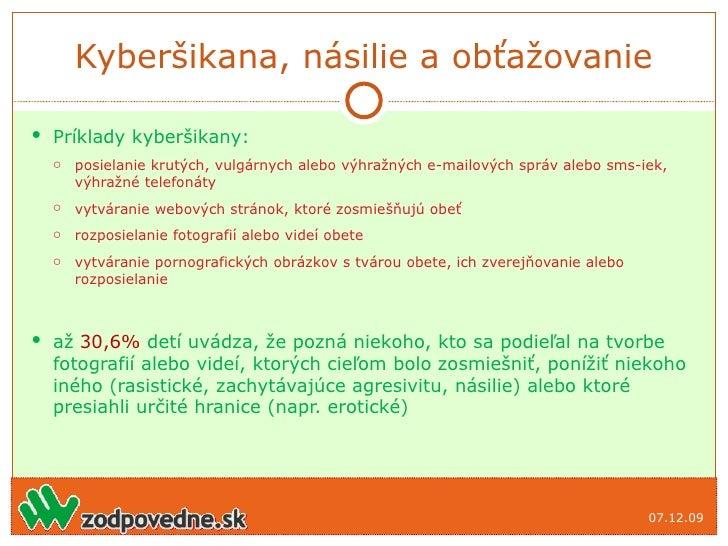 Príklad Online Zoznamovacie správy