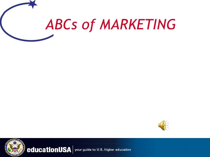 ABCs of MARKETING
