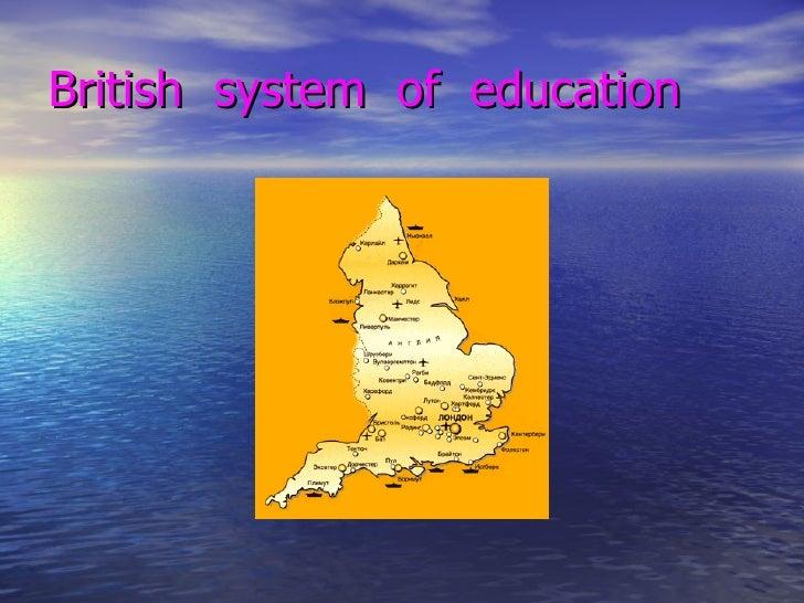 British  system  of  education