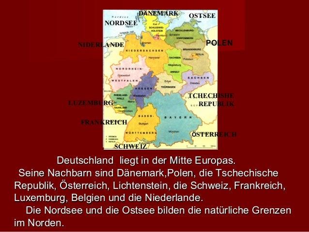 DÄNEMARK   OSTSEE                   NORDSEE             NIDERLANDE                    POLEN                               ...