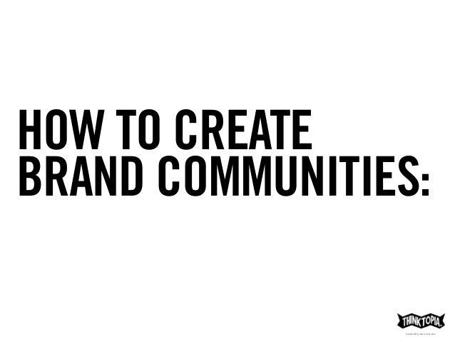 Primal Branding Thinktopia® Slide 2