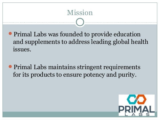 Mission Primal Labs was founded to provide education and supplements to address leading global health issues. Primal Lab...