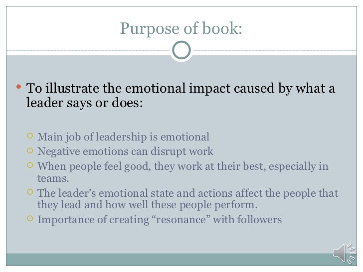 primal leadership rh slideshare net Primal Leadership Article Primal Leadership Goleman Emotional