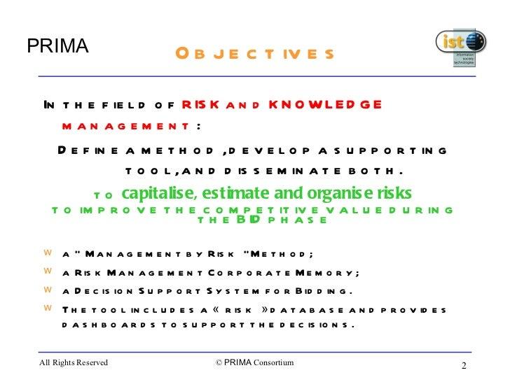 Prima presentation Slide 2
