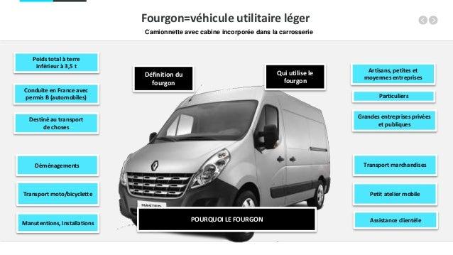 POURQUOI LE FOURGON Transport marchandises Petit atelier mobile Assistance clientèle Déménagements Transport moto/bicyclet...