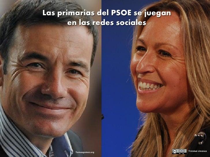 Las primarias del PSOE se juegan                         en las redes sociales     ©2009 Zoomlabs, S.L.                   ...