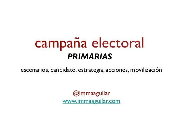 Renovación de élites ¿por qué primarias? • diferencias entre elección delegada interna o elección directa interna • difere...