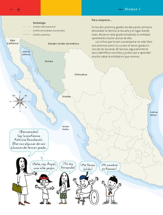La entidad donde vivo: Sonora