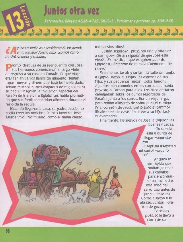 • 1 yudas a suplir las necesidades de los demás  I 1 en tu familia? José lo hizo. Leamos cómo  mostró su amor y cuidado.  ...