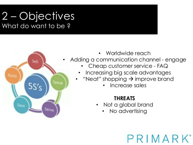 """marketing strategy primark A closer look at primark's stance on responsible fashion primark: """"sustainability is not a marketing  the strategy aims to build on its current pilot."""