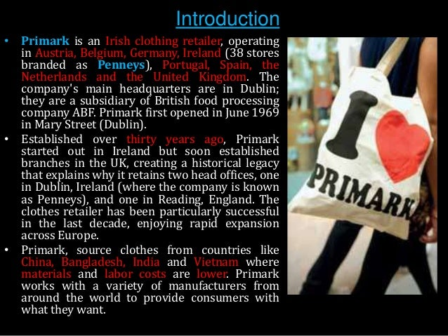 Primark woos British shoppers but ABF warns sterling benefit to fade