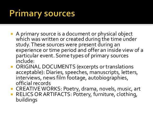History: Secondary Source and Typical 18th Century Essay Sample