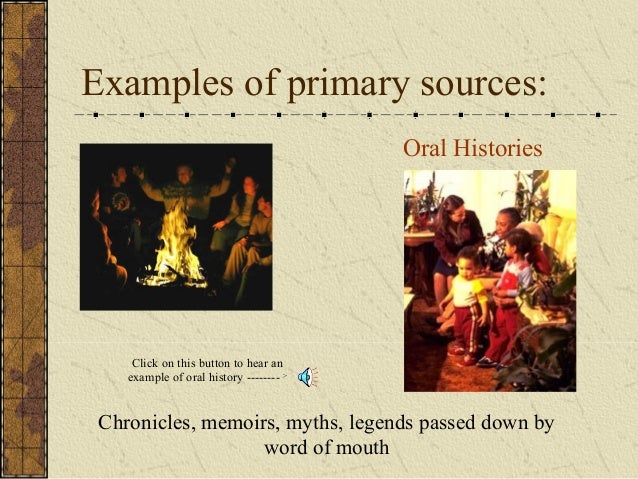 primary and secondary source examples pdf