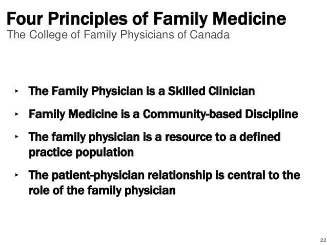 What is Primary Care? A Canadian Perspective