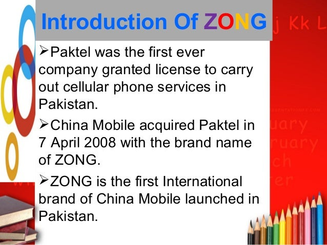 mission statement of zong Zong 4g, pakistan's no 1 zong 4g's long-term ambition as stated in its mission statement is centered on the idea of enabling a fully connected environment.
