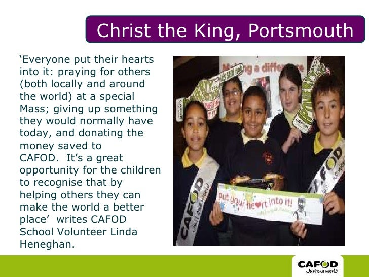 Christ the King, Portsmouth<br />'Everyone put their hearts into it: praying for others (both locally and around the world...