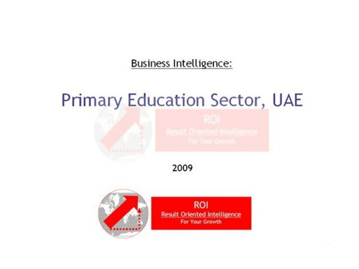 Primary Education Sector - GCC