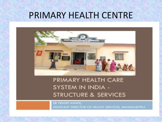 Primary health care ppt