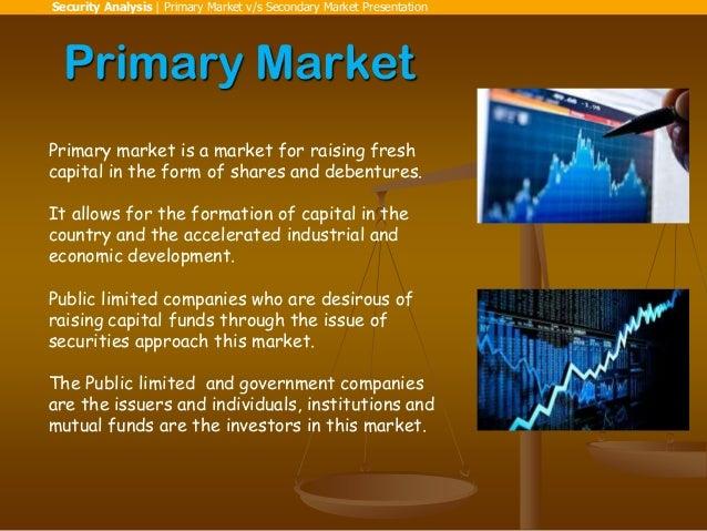 Primary market vs secondary market (Made by Pankaj Bali) (SIES College Nerul) Slide 3