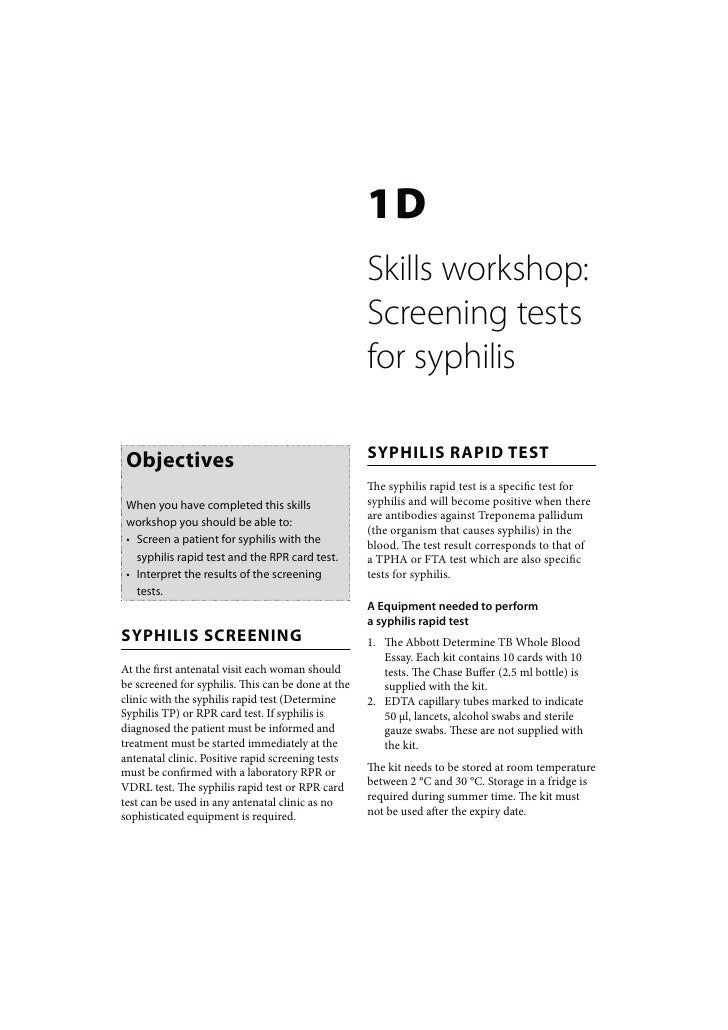 1D                                                    Skills workshop:                                                    ...
