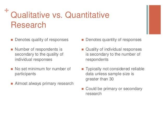 Quantitative vs. Qualitative Research: What's the Difference?