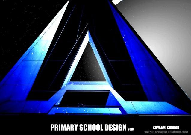 Primary School Architectural Design - India