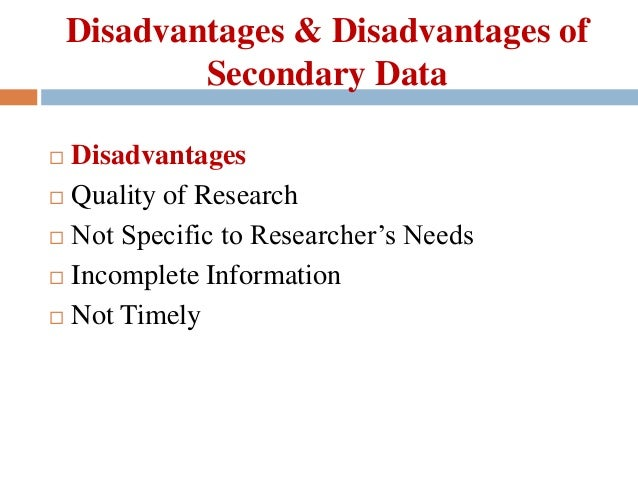 Methodology chapter dissertation secondary data