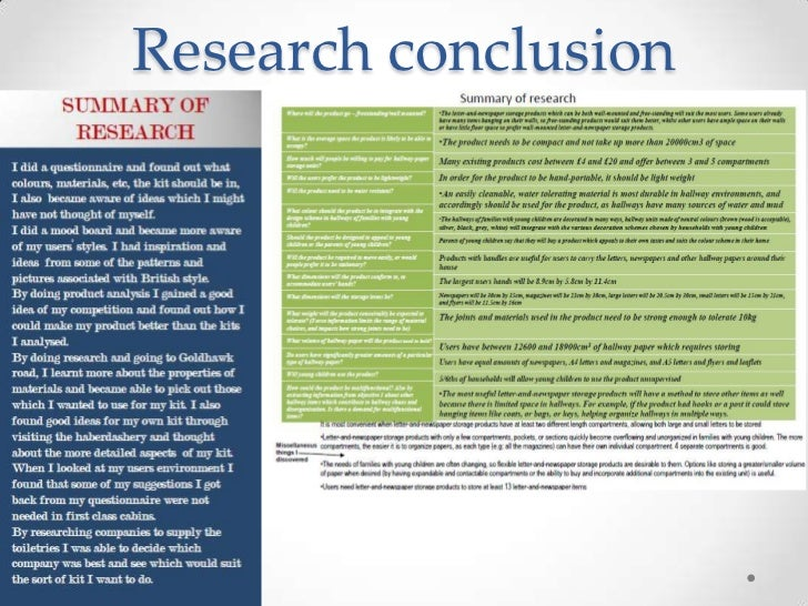 secondary research examples