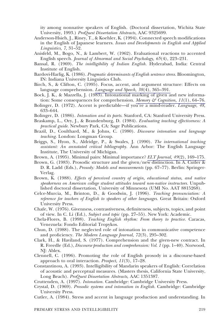 Doctora dissertation of pelham am 1993