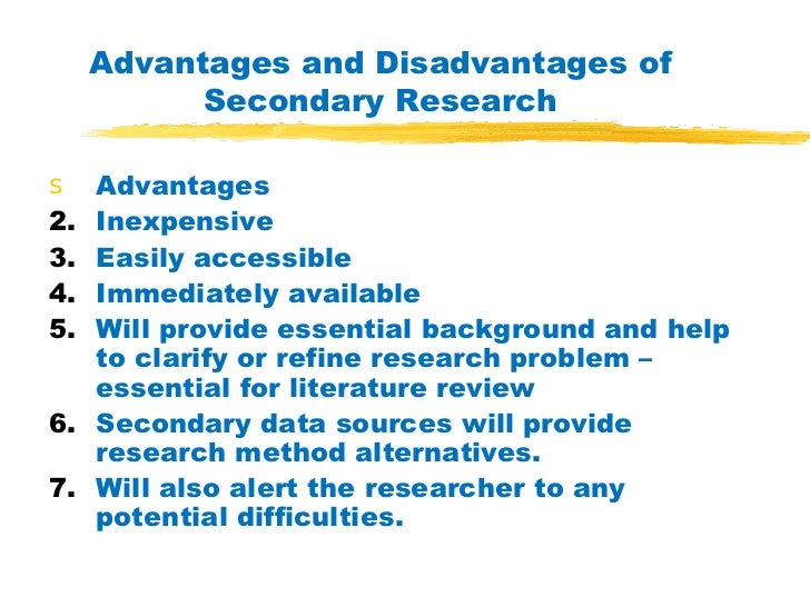 primary and secondary data in research methodology Chapter 2: research methodology for the study purpose both primary and secondary data are used the primary data collected from sales men of the companies.