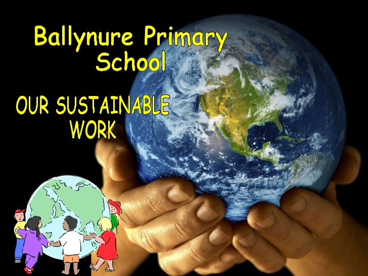 Ballynure Primary  School  OUR SUSTAINABLE WORK