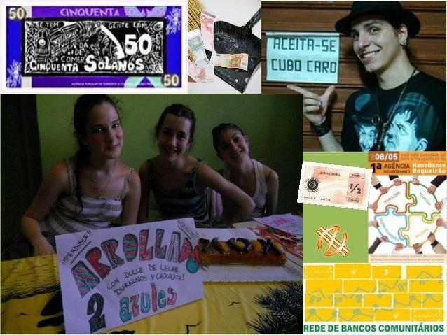 ¿Qué tenemos hoy? www.institutobancopalmas.org www.foradoeixo.org.br www.unicult.org www.8thlife.org ¡UN MILLÓN DE REVOLUC...
